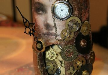 Russian nesting doll in Steampunk style