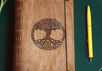 Black Suede Handmade Notebook
