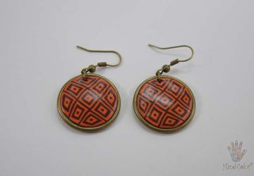 Portuguese Montanhac Round Earrings - BCDM-0-65