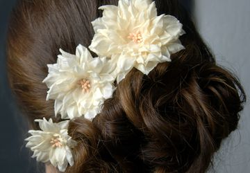 A wedding set of 2 hairpins Tenderness