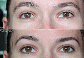 Eyebrows modeling