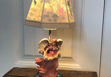 Vintage Angel Lamp
