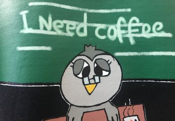 Teacher needs coffee