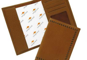 Passport cover CANGURIONE 3308-004 DP Tan