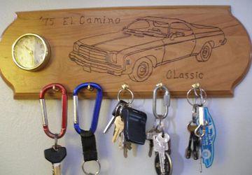 Key Rack Clock