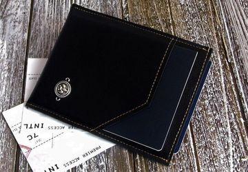 Vegan Leather Travel Wallet