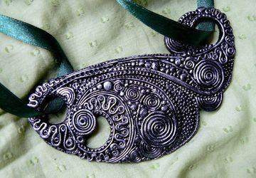 "A pendant ""Crazy fantasy"""