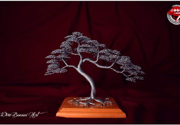 Wire bonsai tree, bonsai tree, tree, handmade, Home decor, gift , deco, decoration