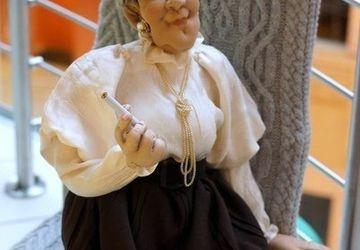 "Designer's doll ""Ranevskaya"""