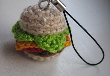 Cheeseburger-trinket