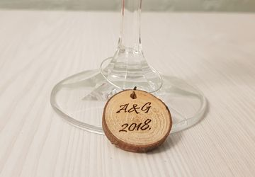 wine glass charms,wine charms,wine glass charm,wedding glass charms,wedding charms,custom wine charms,wooden wine charms,personalized charms