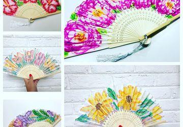 Flower Hand Fans