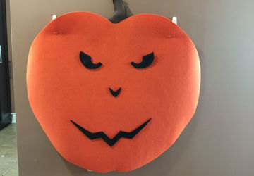 Felt Jack o Lantern Decorating Activity