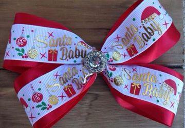 santa baby bow