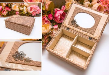 "Handmade casket N0054 ""Harmony"""