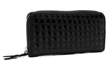 Woman's leather wallet Cangurione 2114-001 A.R Black
