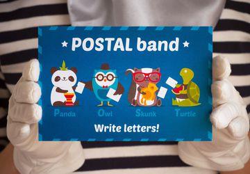 """Postcard """"Postal band"""""""