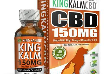 150mg CBD For Dogs | King Kanine