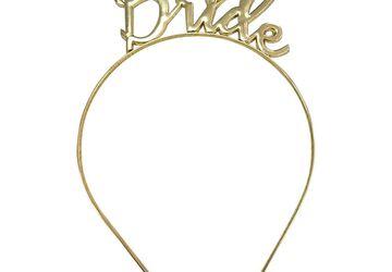 Gold Bride Headband – Hens Night Ideas At Pecka Products