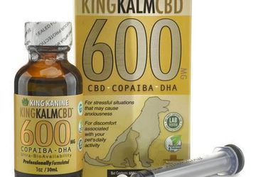 Buy CBD Oil for Pets at King Kanine | Combination of Copaiba and DHA
