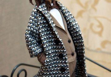 """Designer's puppet """"A horse in a coat"""""""