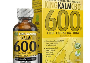 Buy CBD for Dogs at King Kanine | 600 mg CBD with Copaiba and Krill Oil