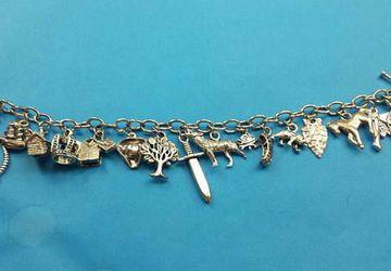 American Assassin charm bracelet