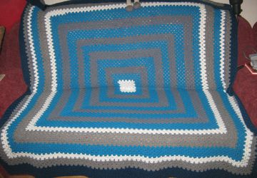 Handmade crocheted rugs