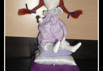 "A doll ""Mollycoddle"""