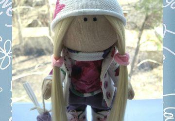 """A textile doll """"Anna"""""""