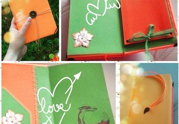 "A notebook ""Fox"""