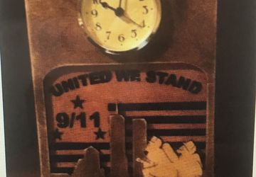 clock in memory of 911