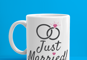 Just Married Mugs (11 oz or 15 oz)