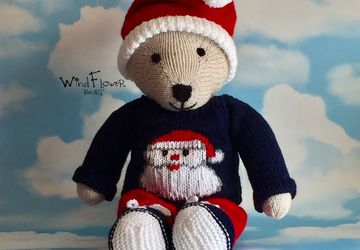 Hand crafted, one of a kind teddy bear - Woodlandstar