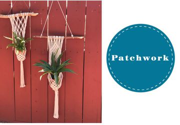 Macrame Plant Wrap Around