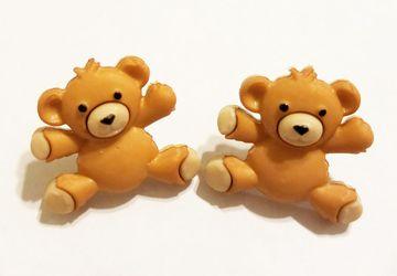 Teddy Bear Post Earrings #4