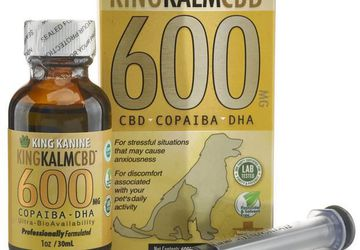 600 Mg CBD with Copaiba & Krill Oil for Dogs With | King Kanine