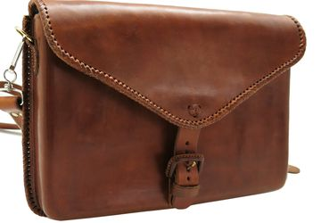 """Mexico 0015-M"" man leather laptop bag"