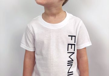 Feminist Toddler Boy Girl T-Shirt Boys Tee Feminism Toddler Girls Shirt Kids Feminist TShirt Protest Tee Feminist Shirts Kids Girl Power Tee