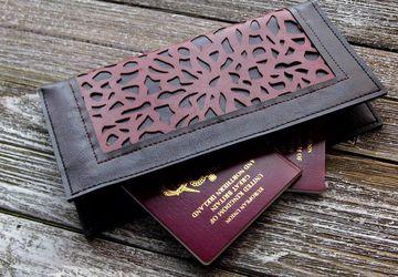 Vegan Travel Wallet