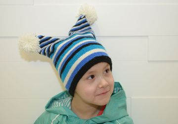 A hat for a boy