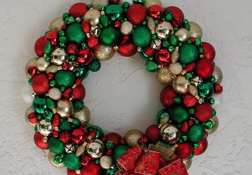 Jingle Bells Wreath