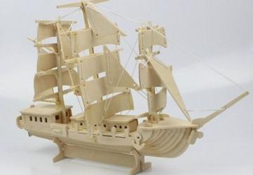 Wooden ship