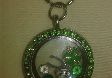 Lucky St. Patrick's Day Locket Necklace