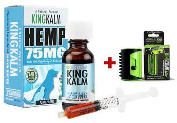 Hemp Oil for Pets—75 mg | King Kanine Wellness