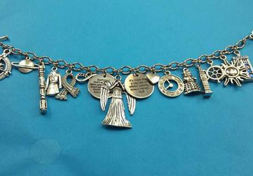 Space Doctor charm bracelet