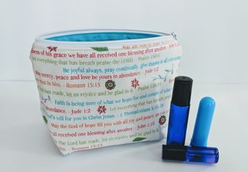 Bible Verse Essential Oil Bag