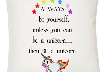Be A Unicorn Decorative Cushion