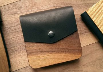 Handmade Wooden Wallet