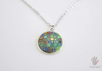 Gustav Klimt Nilo Necklace - CNAK-0-43